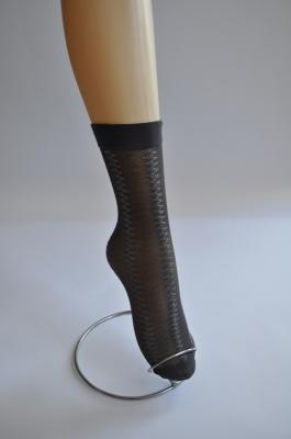 Дамски къси чорапи фигурални - 20 DENIE